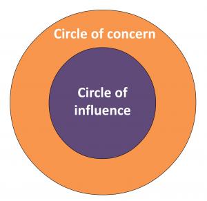 Steven Covey's circles