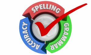 Spelling and Grammar Check